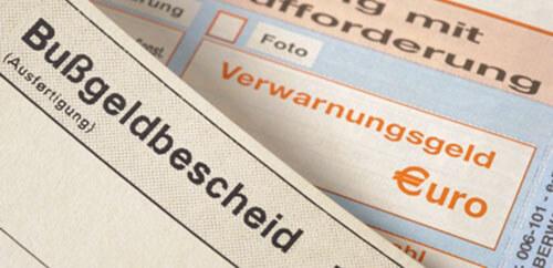 Bußgeldbescheide und Verwarnungsgeldbescheide bei Themen im Verkehrsrecht